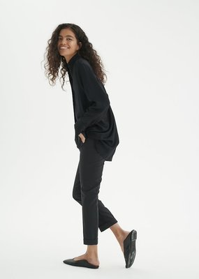 InWear Zella Turn-Up Black Pant