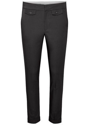 InWear Zella Turn-Up Black Pant