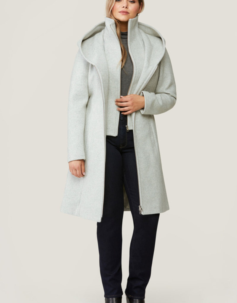 Soia and Kyo Adison Wool Coat with Hood