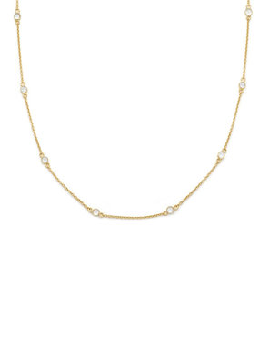 Leah Alexandra Leah Alexandra - Floatesse Necklace in White CZ