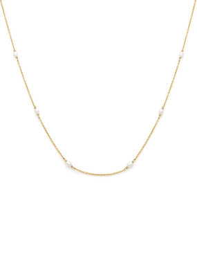 Leah Alexandra Leah Alexandra - Floatesse Necklace in Pearl