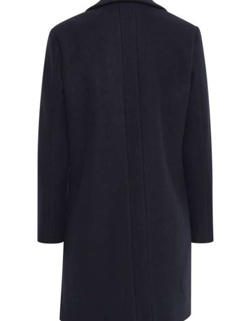 ICHI Jannet Short Jacket - Navy
