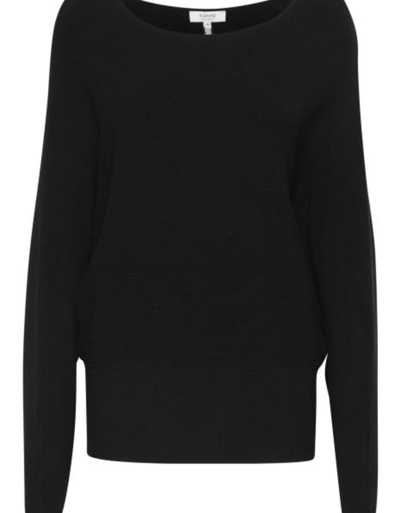 B.Young Malto Bat Sleeve Sweater - Black