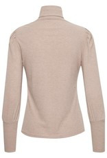 Cream Meisa Rollneck Long Sleeve