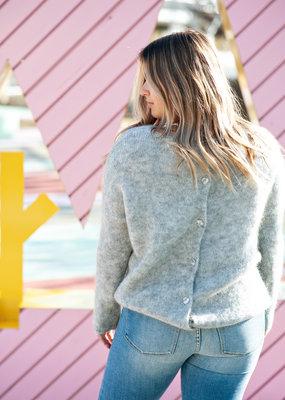 Des Petits Hauts Des Petits Hauts - Dolympe Button Back Sweater