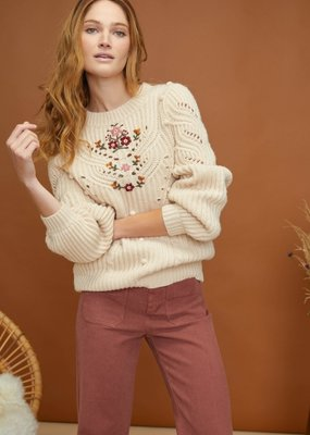 Louizon Luca Embroidered Sweater