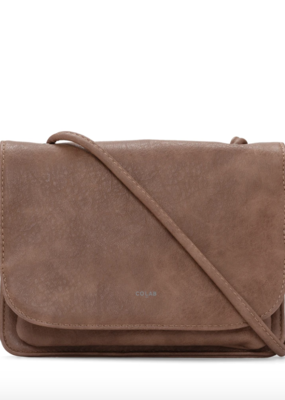 Colab Madison Crossbody Bag - Tumbled Faux Leather *Two Colours*