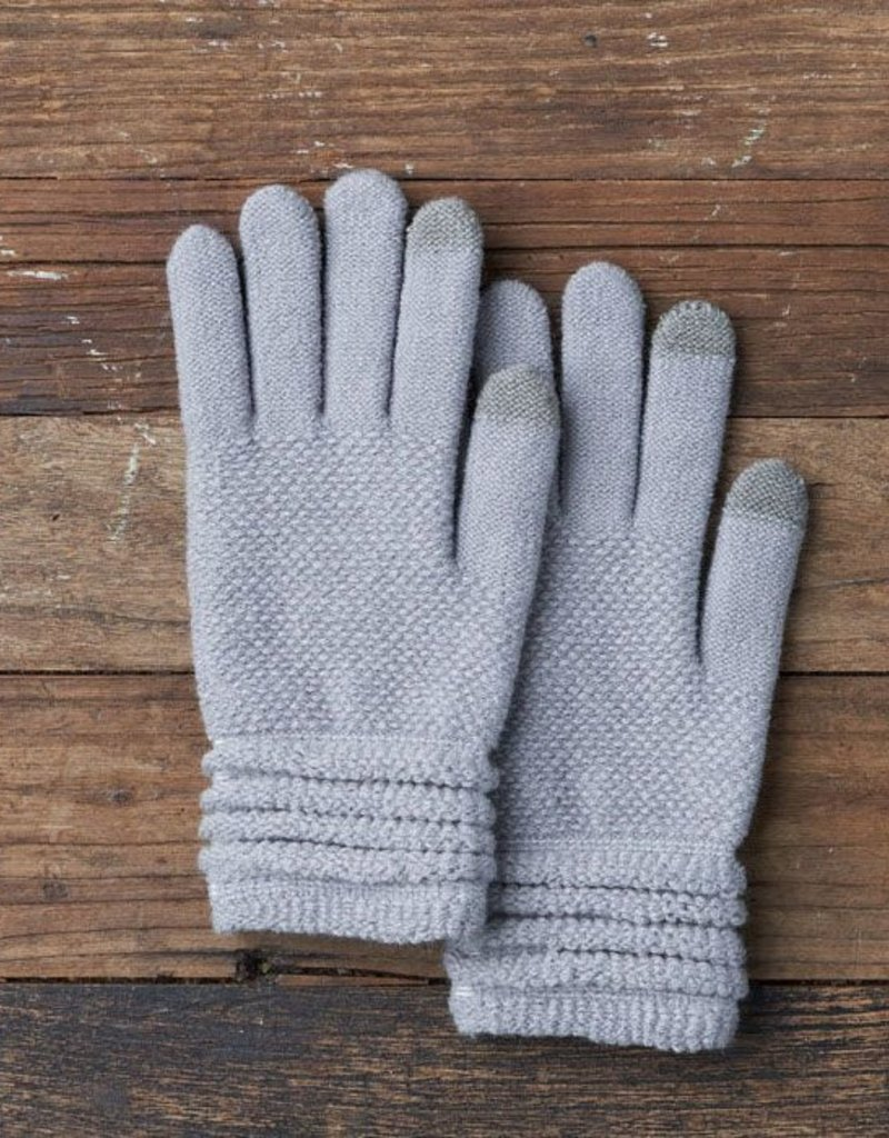 Lemon Lady Glove - Grey