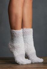 Lemon Colorblock Furry Sock (2 Pack)