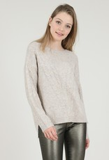 Molly Bracken Madelyn Sweater in Beige