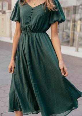 Jessa Kae Highbury Swiss Dot Dress *Two Colours*