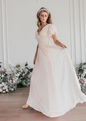 Jessa Kae Endless Love Chiffon Maxi Dress