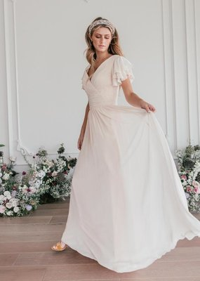 JessaKae Endless Love Chiffon Maxi Dress