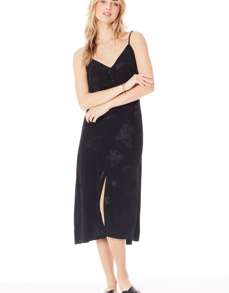Saltwater Luxe Sundown Tank Midi Dress - Black