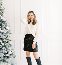 Molly Bracken Lara Sequin Skirt