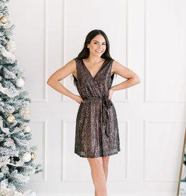 Molly Bracken Molly Copper Sequin Dress