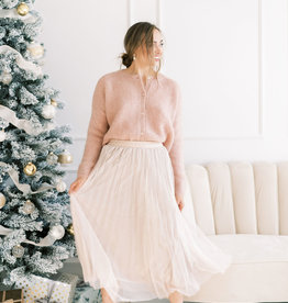 Molly Bracken Kayla Pleated Tulle Skirt