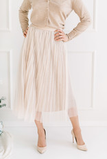 Molly Bracken Kayla Pleated Tulle Skirt