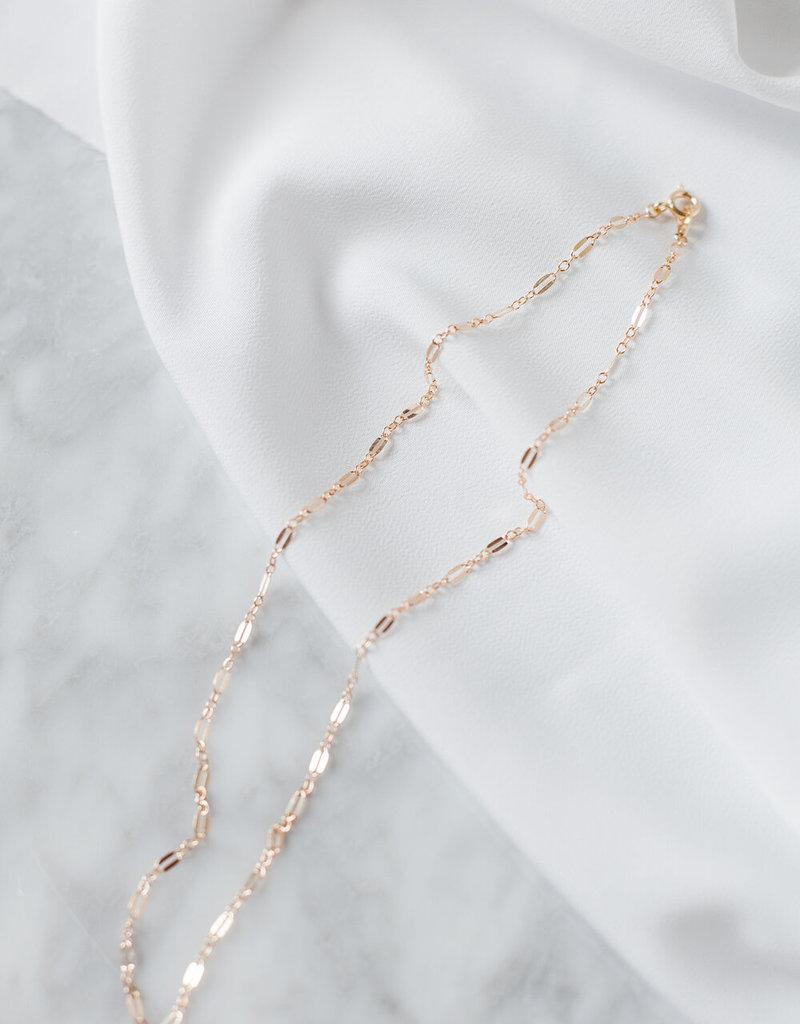 Lavender & Grace Bambi Chain Necklace