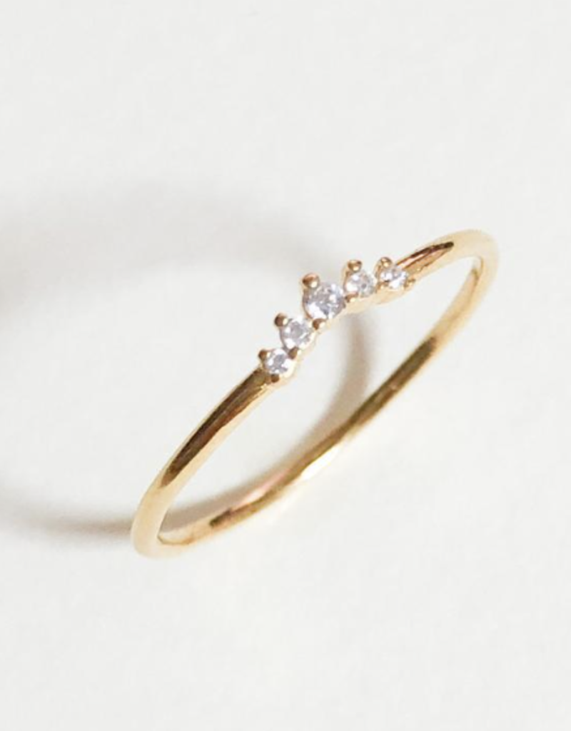 Lavender & Grace Harlow Ring