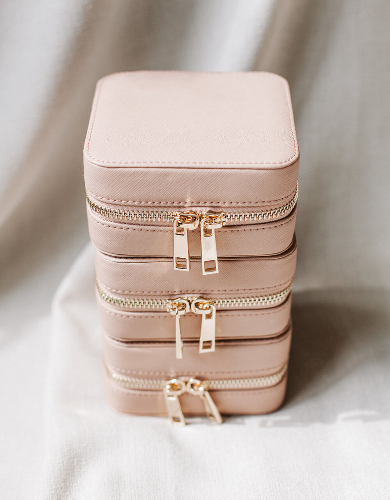 Lavender & Grace Jewelry Case - Blush