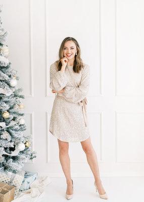 Dress Forum Sutton Sequin Mini Dress
