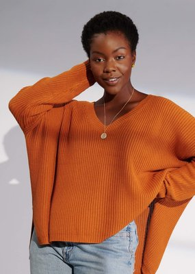 Emma Knudsen Emma Knudsen - Kate Sweater in Pumpkin Spice