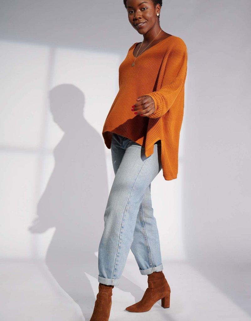 Emma Knudsen Emma Knudsen - Kate Sweater in Pumpkin Spice
