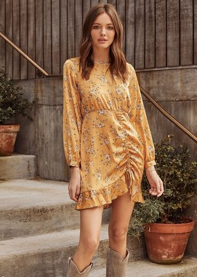 Saltwater Luxe Brantley Golden Floral Dress