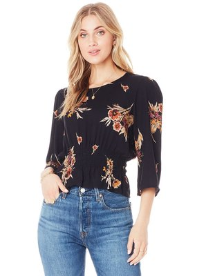 Saltwater Luxe Belle Floral Blouse