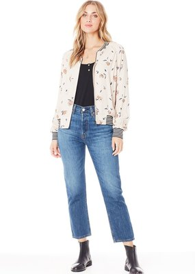 Saltwater Luxe Crossfire Floral Bomber Jacket