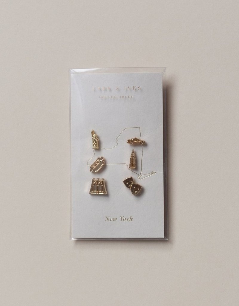 Lark and Ives Lark & Ives - Pin Set - New York