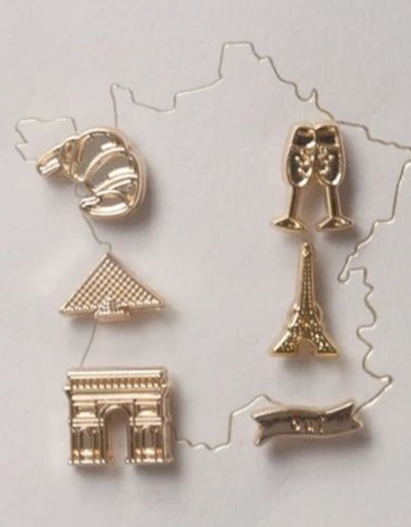 Lark and Ives Lark & Ives - Pin Set - France