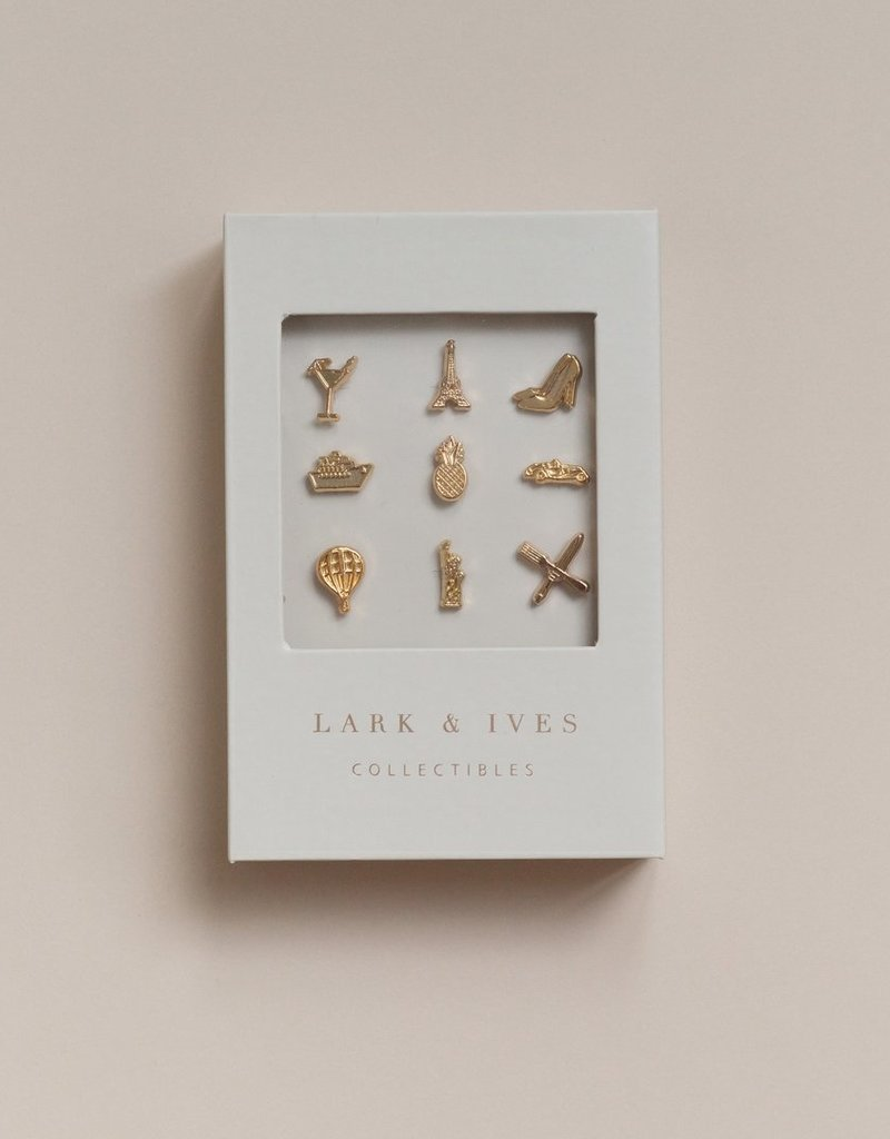 Lark and Ives Lark & Ives - Pin Set - Wanderlust