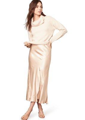 BB Dakota Sway of Life Satin Midi Skirt
