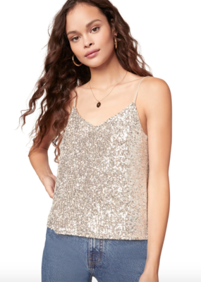 BB Dakota Hide And Sequin Tank