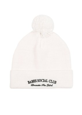 Brunette the Label Brunette the Label - Babes Club Toque in Cream