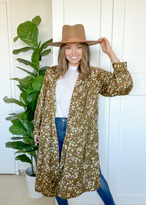 Saltwater Luxe Nikki Floral Duster
