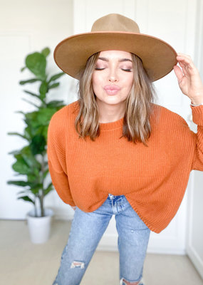 Emma Knudsen Emma Knudsen - Deryn Sweater in Pumpkin Spice