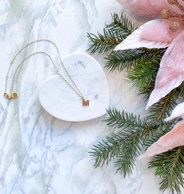 Sugar Blossom Louie Letter Necklace