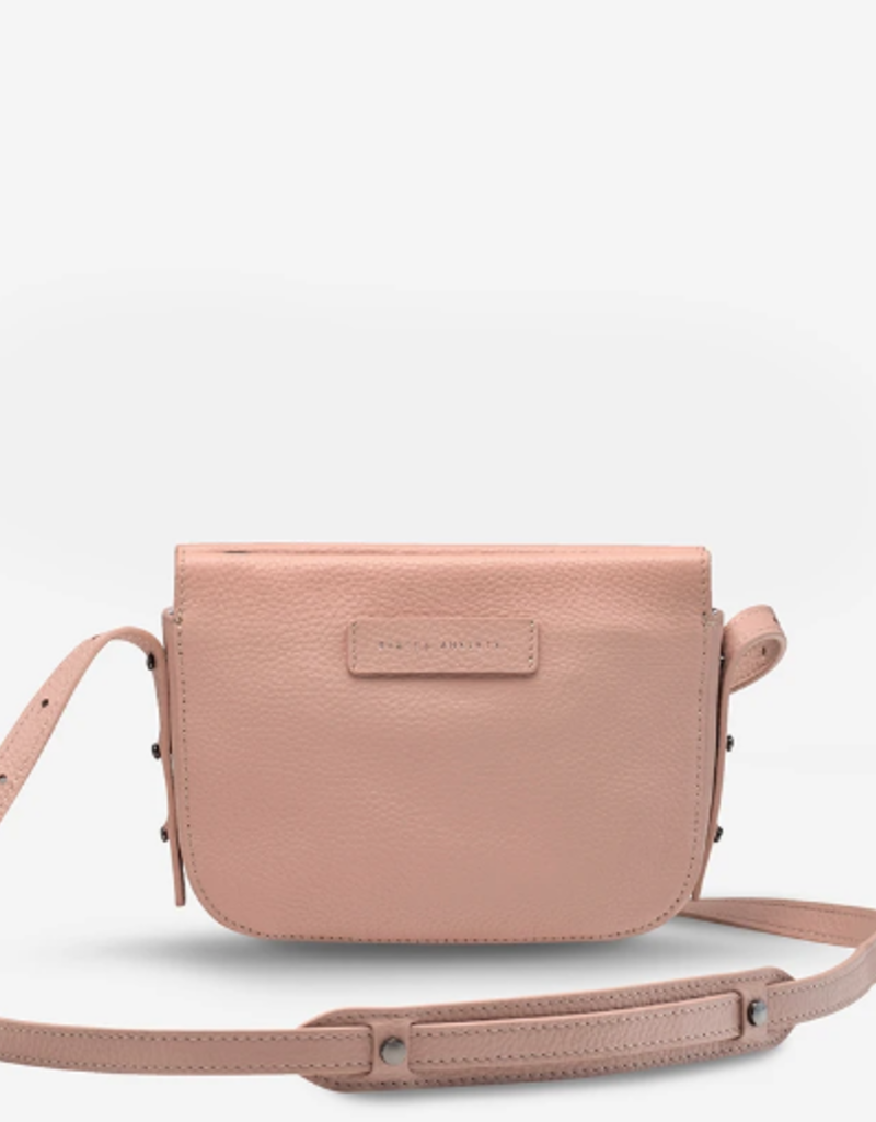 Status Anxiety In Her Command Bag in Dusty Pink