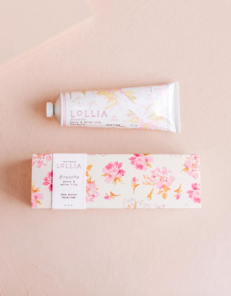 Lollia Breathe Hand Cream - Peony