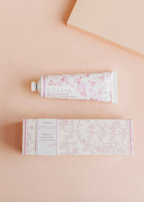 Lollia Lollia Relax Hand Cream in Lavender & Honey