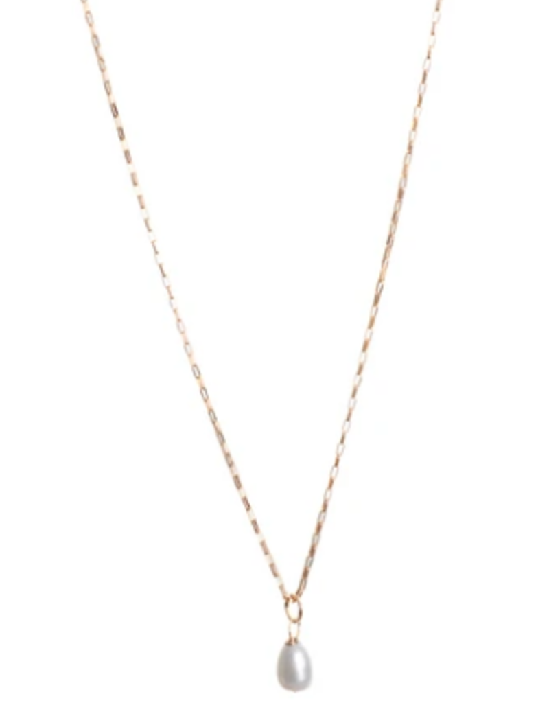 Lisbeth Kaia Pearl Necklace - 14k Gold Fill