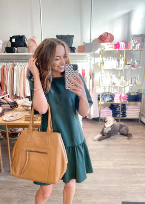 Emma Knudsen Emma Knudsen - Lauren Dress in Mountain View Green