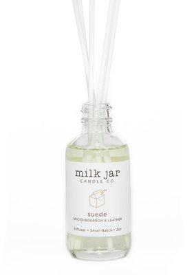Milk Jar Candle Co. Milk Jar Diffuser - Suede