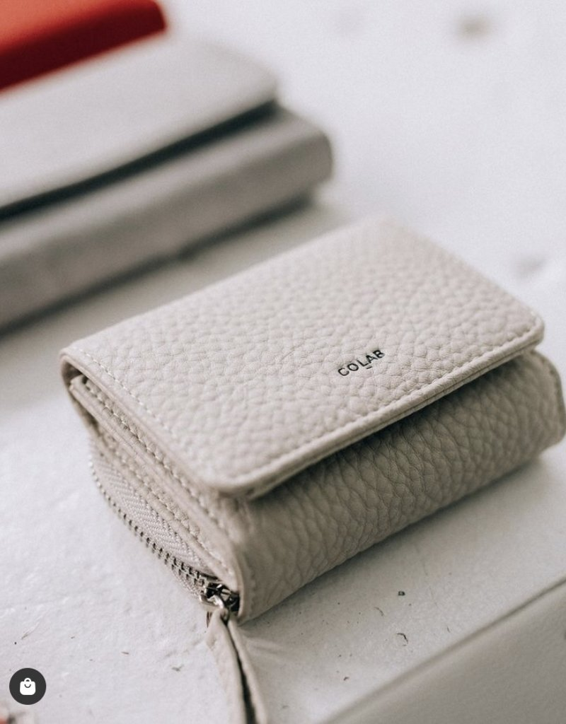 Colab Pebble Tri-Fold Wallet