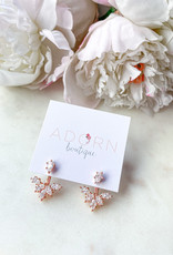 Adorn Collection Jewelry Rose Gold Ear Jacket