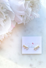 Adorn Collection Jewelry Gold Crawler Earring
