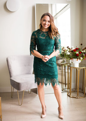 Minuet Adeline Lace Dress